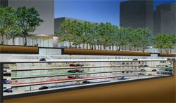 Diepste parkeergarage van Nederland geopend