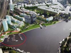 Nieuwe horeca met haven en zwembad in Amstelkwartier