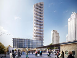 Provast ontwikkelt hoogste woontoren Amsterdam