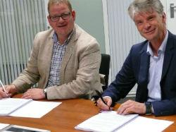 Blauwhoed ondertekent overeenkomst BergsLicht
