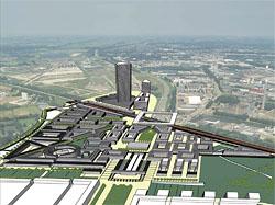 Bouw Leidsche Rijn Centrum begint eind dit jaar