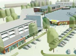 Winkelcentrum Colmschate wordt uitgebreid en opgefrist