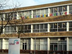 Woningplan voor schoollocatie in Eindhoven