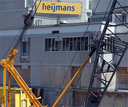 Fors lagere omzet Heijmans
