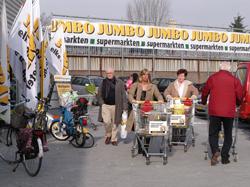 Supermarktomzet groeit nauwelijks