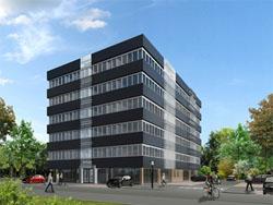 Startersappartementen in getransformeerd kantoorpand