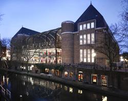 Centrale Bibliotheek Utrecht naar postkantoor Neude
