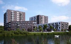 Wethouder Utrecht opent startersappartementen