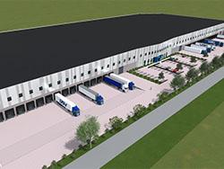 Distributiecentrum DSV Logistics in Venlo klaar