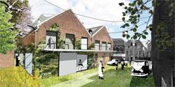 Begin bouw woningen in oude fabriek Tieleman & Dros