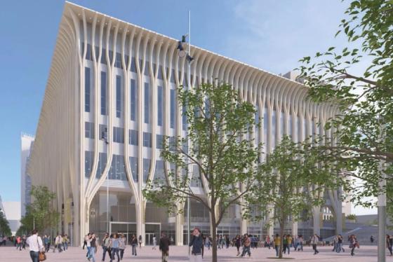 Bouw Haags cultuurcomplex op 8 januari hervat