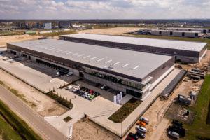 Opname logistiek vastgoed naar 1,63 miljoen m2