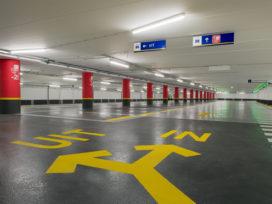 Woningbouw op vrijkomende parkeerplaatsen