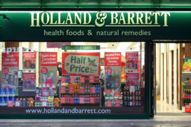 Europese expansie Holland & Barrett