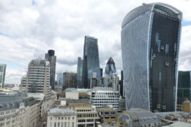 Beleggingsrecord in kantoren City of London