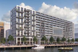 500 parkeerplaatsen in Bay House Rotterdam