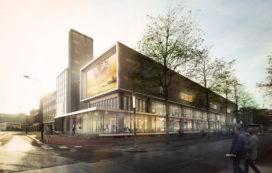 Hofstra transformeert oud postkantoor Enschede tot bioscoop