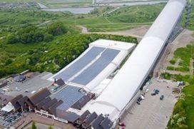 SnowWorld levert zonne-energie