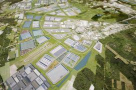 'Logistiek centrum van 70.000 m2 voor Lidl in Venlo'