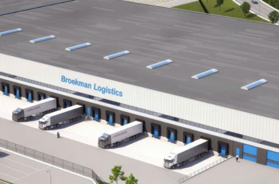 Heylen start bouw dc voor Broekman in Venlo