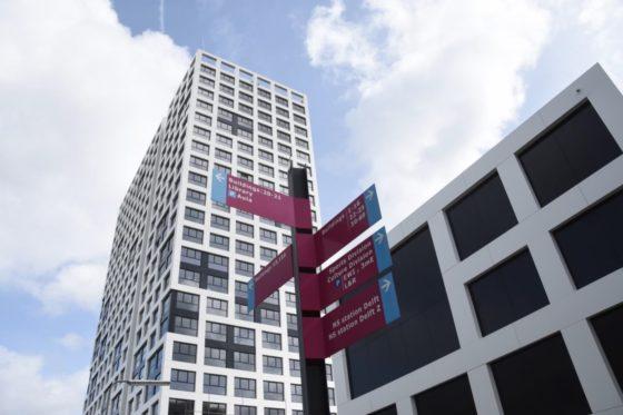 Leyten en Van Maren leveren studentencomplex TU Delft op