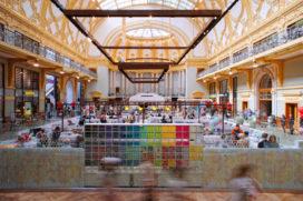 Weekday huurt 850 m2 in Stadsfeestzaal