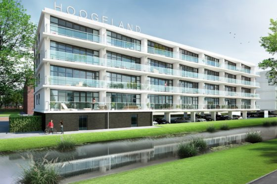 Appartementencomplex Hoogeland Twins, Naaldwijk
