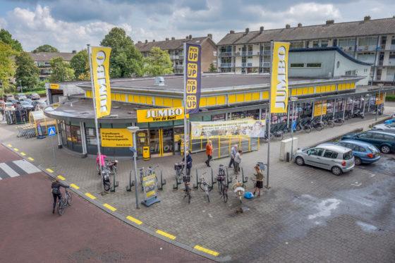 Aantrekkelijke winkelvoorzieningen in stedelijke gebieden