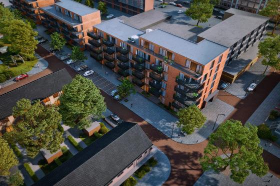 Appartementencomplex De Eik, Beverwijk