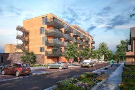 Hoorne bouwt 30 koopappartementen in Beverwijk