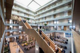 Nieuw gebouw Hogeschool Rotterdam