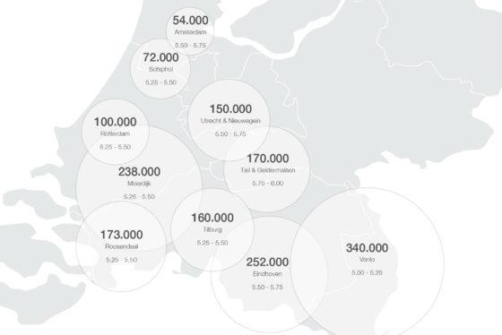 Savills verwacht recordjaar Nederlands logistiek vastgoed