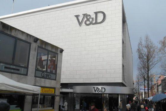 Driekwart V&D-panden leeg in ondersteunende winkelgebieden