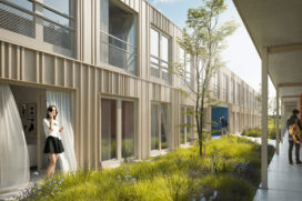 Circulaire woningbouw op Amsterdam Science Park