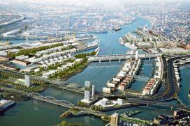 Hamburg presenteert nieuw megaproject in havengebied
