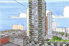 Amvest ontwikkelt nieuwe woontoren Rotterdam