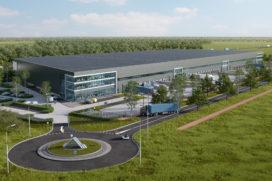 Bouwstart AMS Cargo Center Schiphol