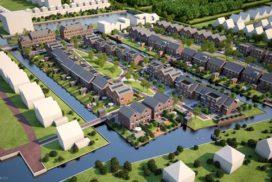 Start bouw tweede fase DelftsHart Nieuw Geluk in Delft