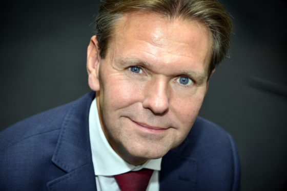 Scheidend NVM-voorzitter Ger Jaarsma, foto Ton Borsboom