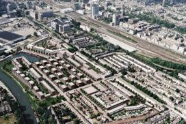 Woonwijk op locatie soepfabriek Utrecht