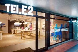 Tele2 huurt pop-ins in winkelcentra Wereldhave