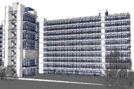 Transformatie faculteitsgebouw naar woningen