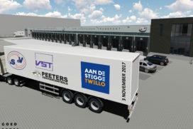 Aan de Stegge bouwt crossdock VSDV LogistiX