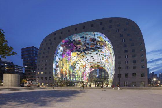 Grote schoonmaak voor Rotterdamse Markthal