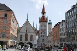 Minste winkelleegstand in Amsterdam en München
