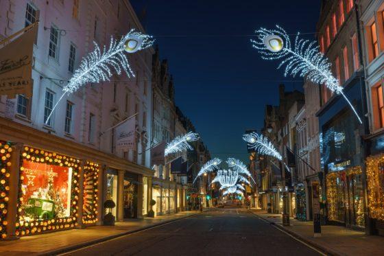 New Bond Street in Londen is Champs Élysées voorbij