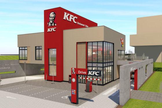 KFC opent restaurant aan A2
