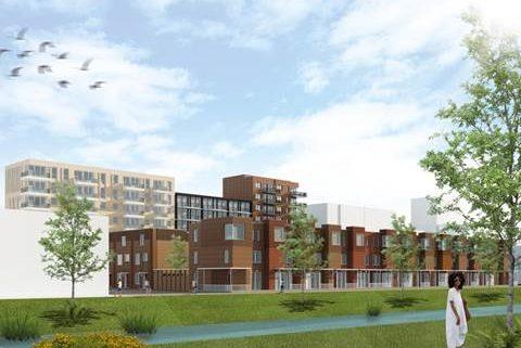 Bouw begonnen van 188 huurwoningen De Entree Haarlem