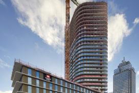 Hoogste punt Amstel Tower bereikt