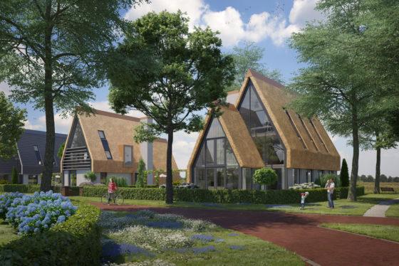 BPD bouwt 45 woningen Reijnweijde in Oegstgeest